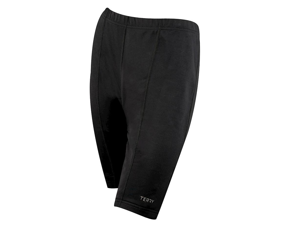 b56933c79 Terry Women s T-Short Plus Size Shorts (Black) (Xxxxl)  TE-PTS-XXXXL ...