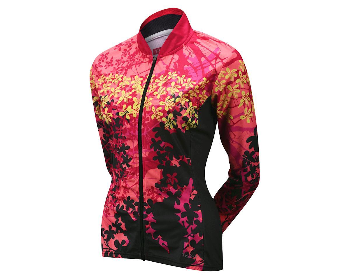 Terry Women's Strada Long Sleeve Jersey (Pink/Gray)
