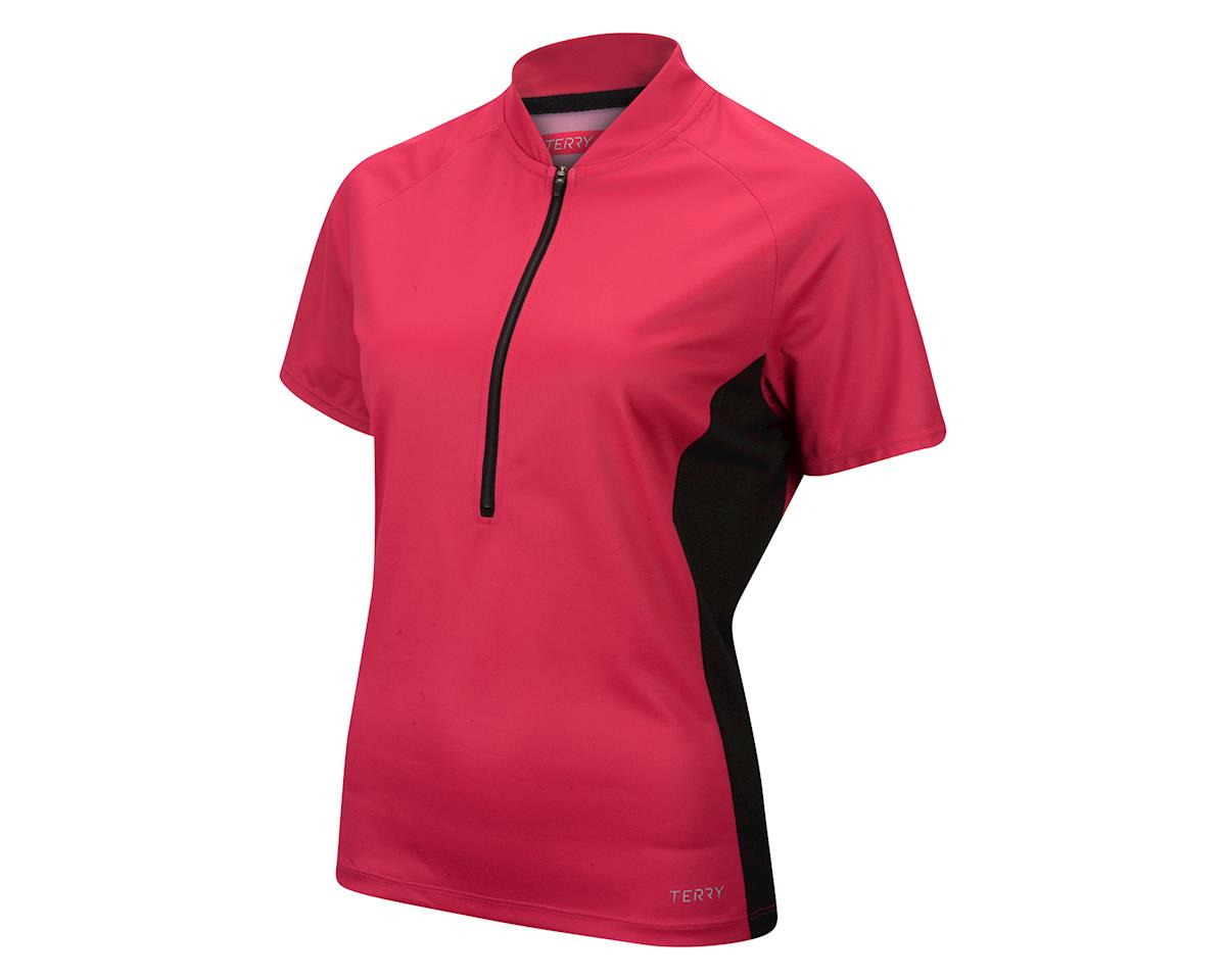 Image 1 for Terry Women's Touring Short Sleeve Jersey (Beetroot)