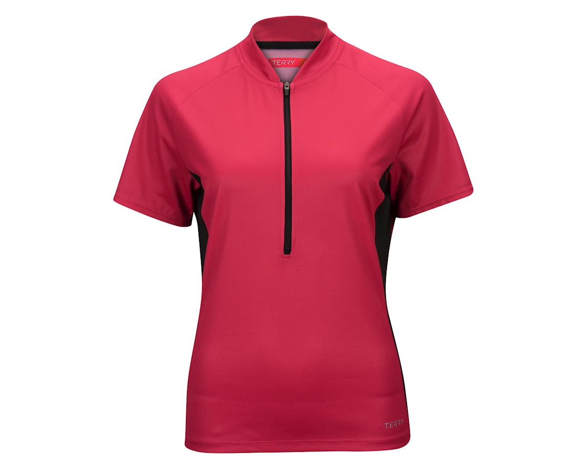 Image 2 for Terry Women's Touring Short Sleeve Jersey (Beetroot)