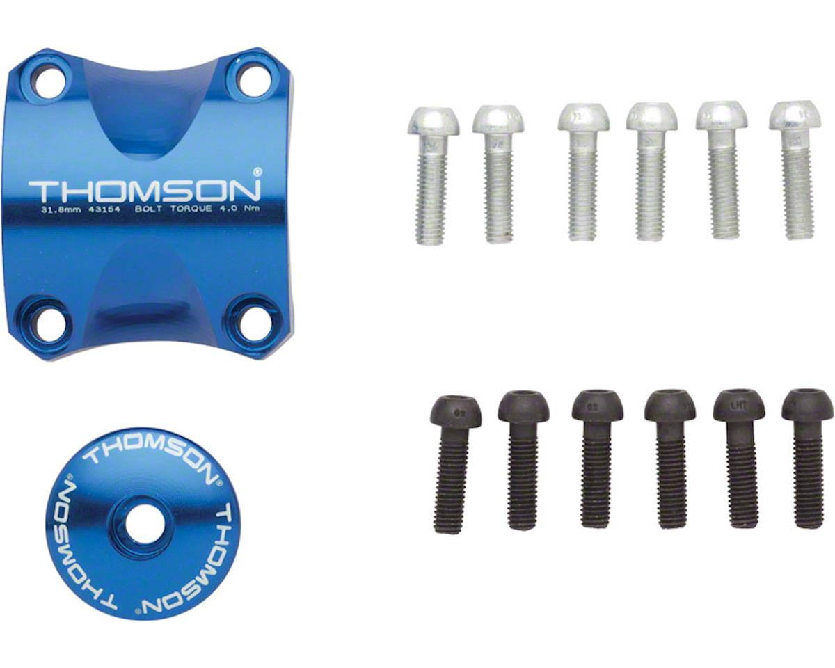 Thomson Stem Faceplate Dress Up Kit (Blue) (For X4) (31.8mm)