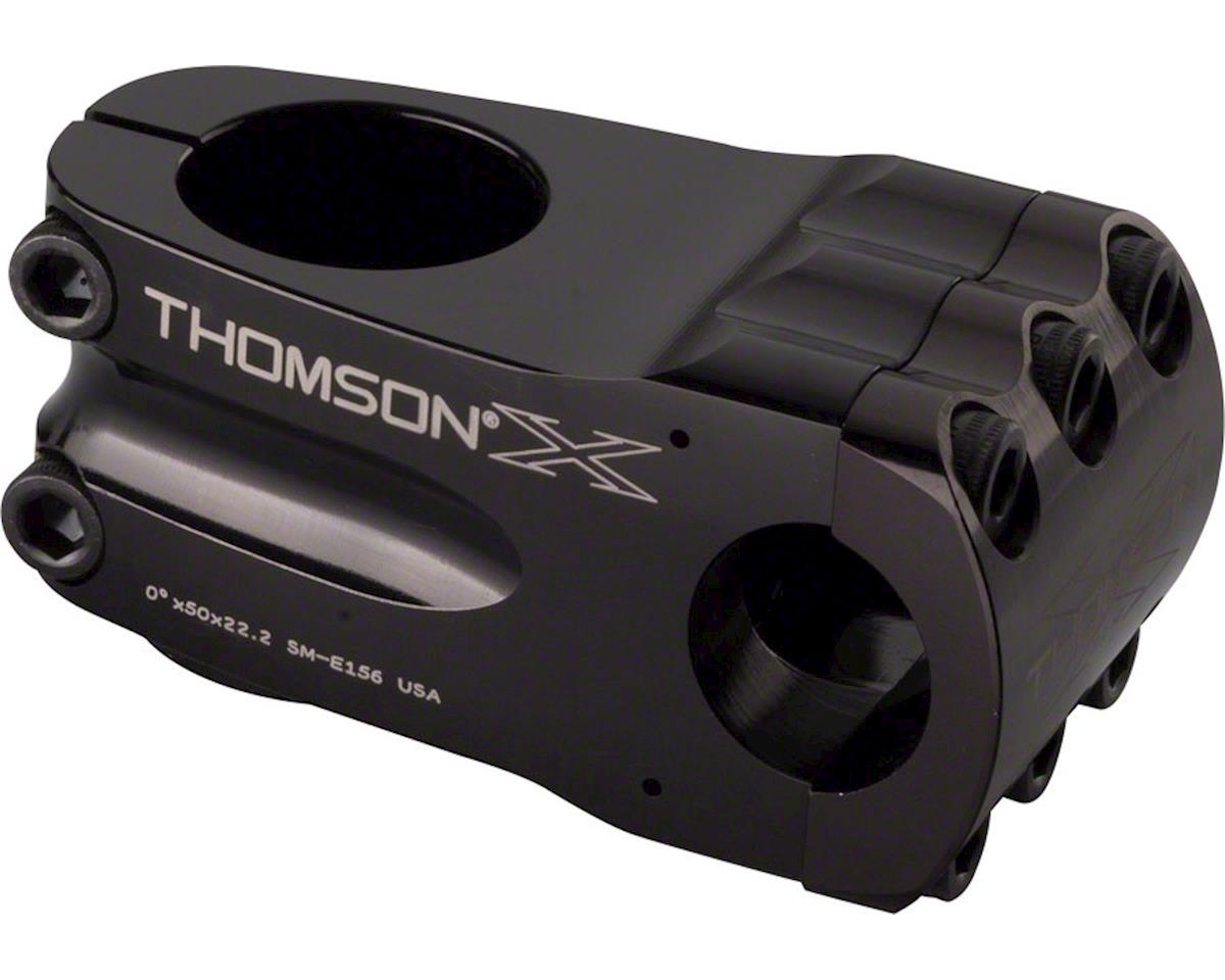 "Thomson Elite BMX Stem (Black) (50mm Length) (1-1/8"") (+/- 0°)"