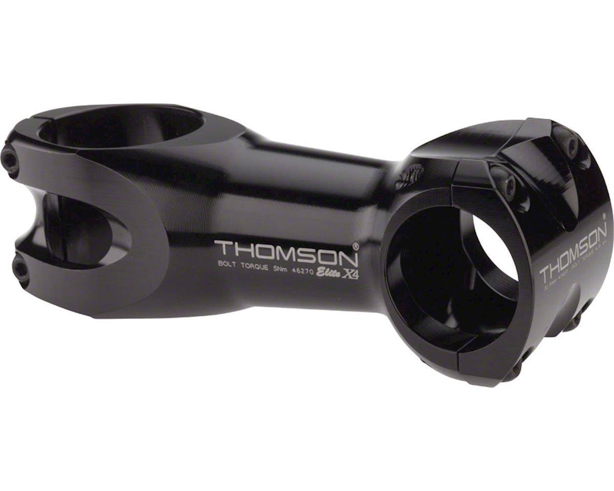"Thomson Elite X4 Mountain Stem (Black) (45mm) (+/- 0°) (31.8mm) (1.5"") (95mm)"