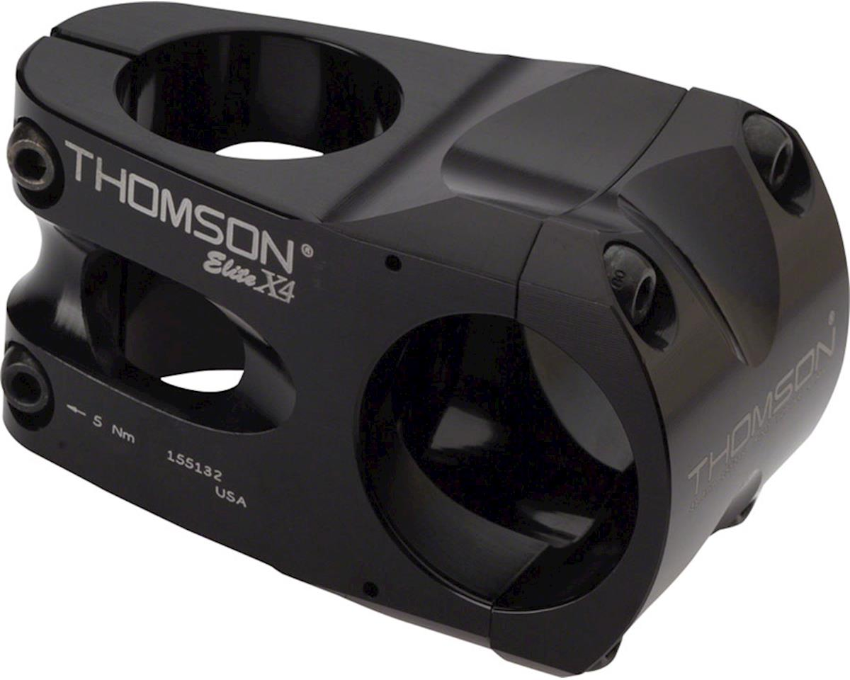 "Thomson Elite X4 Mountain Stem (Black) (+/- 0°) (31.8mm) (1-1/8"" Threadless) (40mm)"