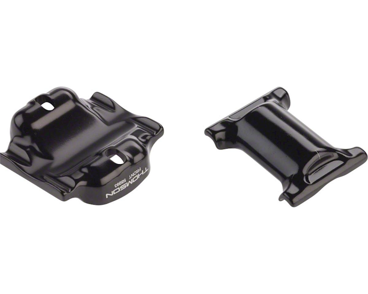 Thomson Elite Seatpost Saddle Clamp Assembly (Black) (For Oversize Rails)