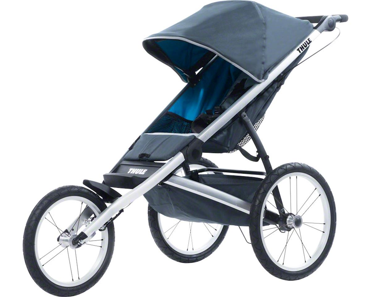 Thule Glide 1 Single Child Stroller: Dark Shadow