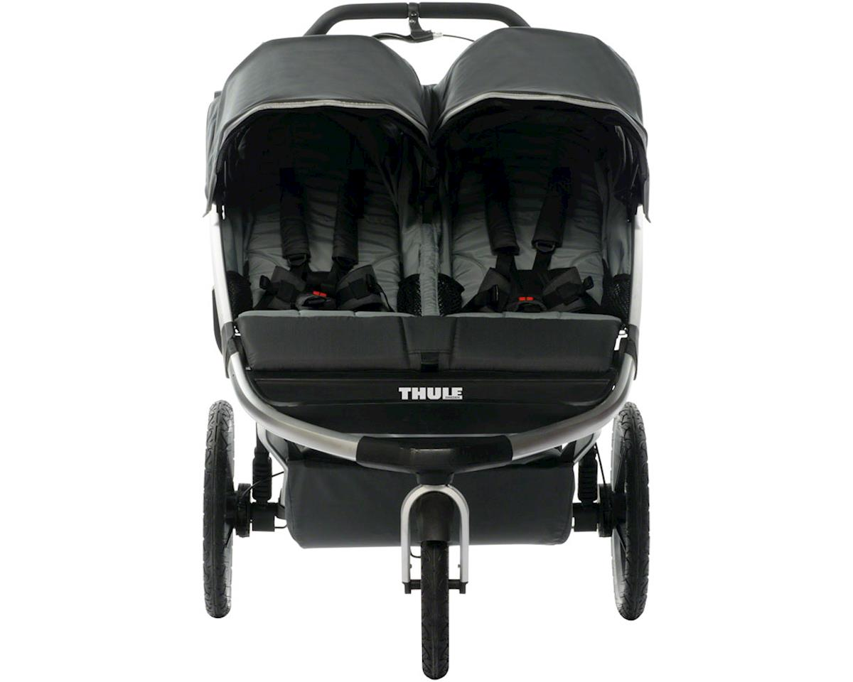 Thule Urban Glide 2.0 Double Child Stroller, Black