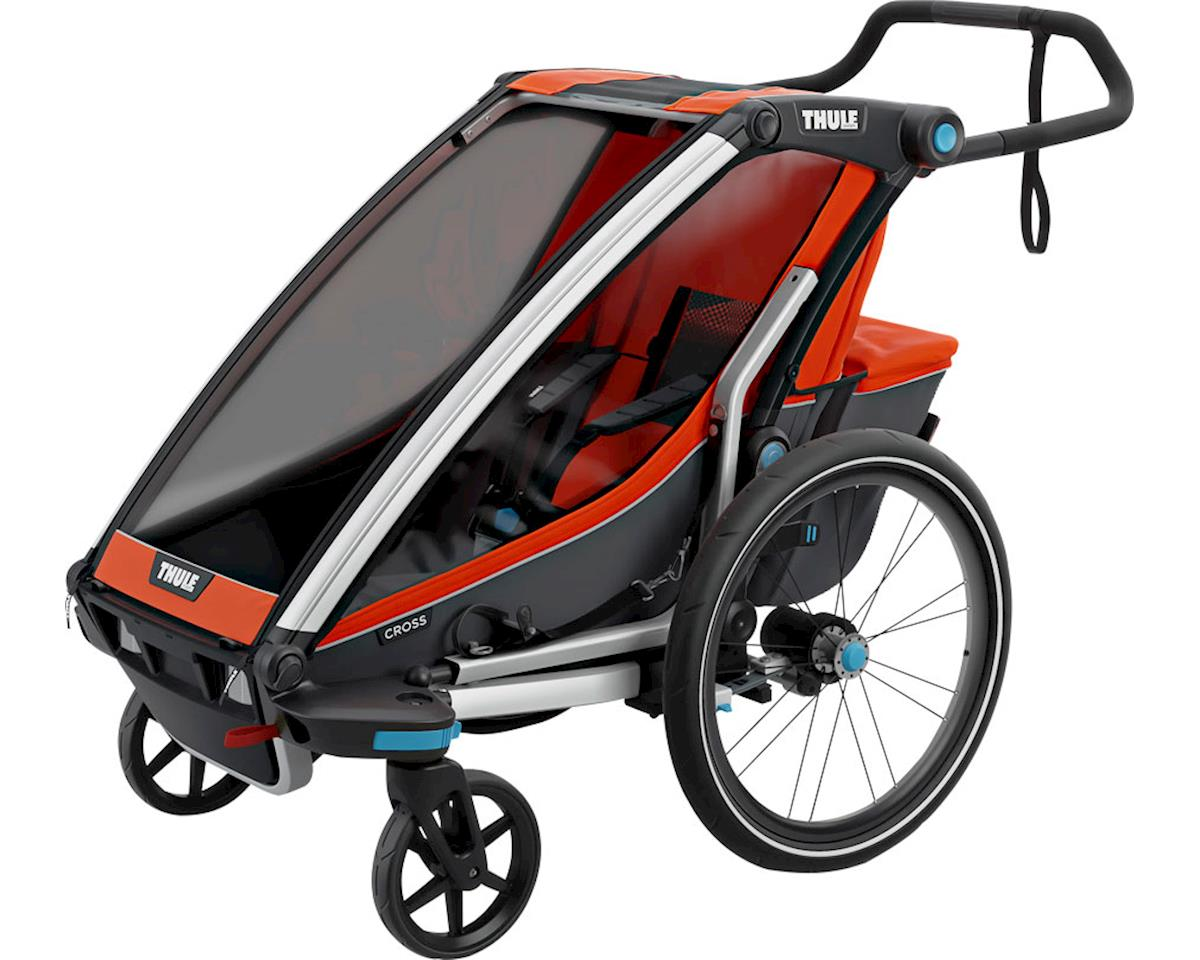 Thule Chariot Cross 1 Trailer and Stroller: Roarange, 1 Child
