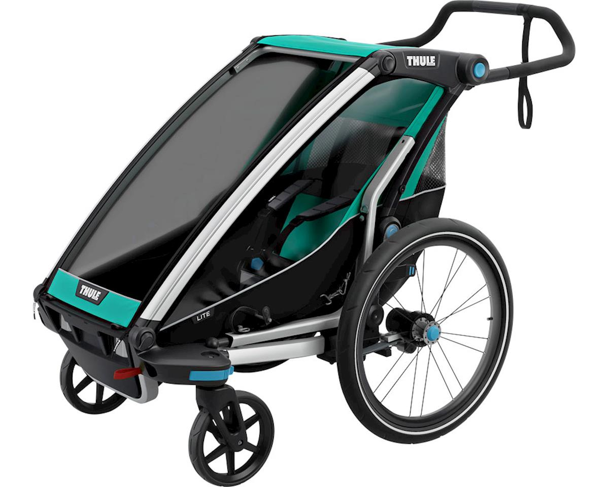 Thule Chariot Lite 1 Trailer and Stroller: Bluegrass, 1 Child