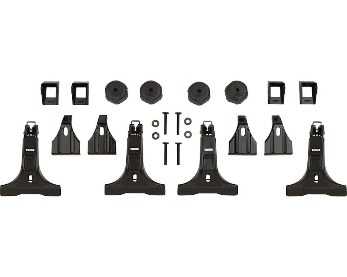Thule 300R Rapid Gutter Foot Pack Tower Set (Fits Aeroblade Bar) (4)