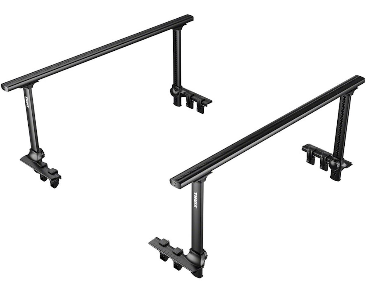 Thule 500XTB Xsporter Pro Pick Up Truck Bed Rack System (Black)