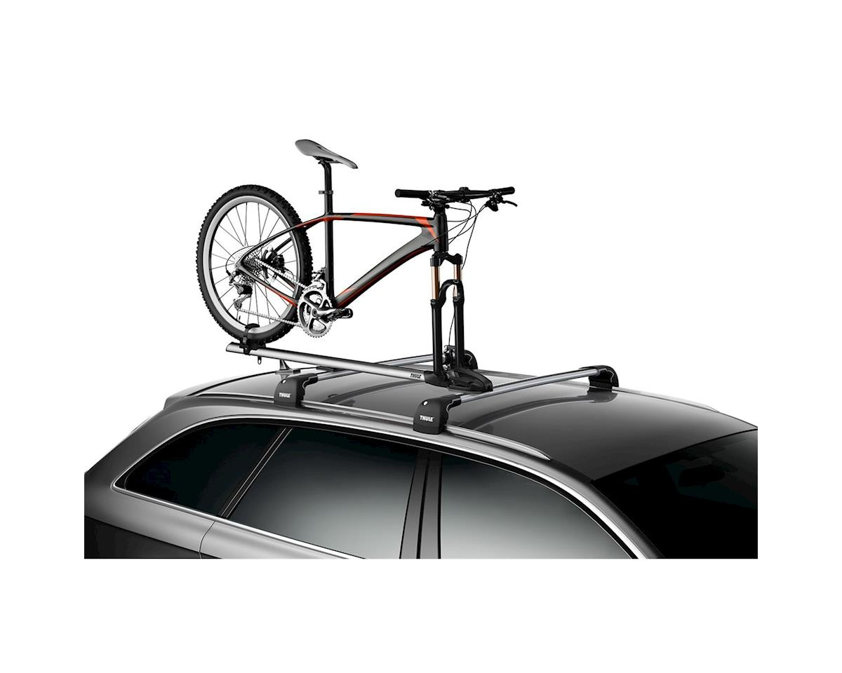 Thule ThruRide Roof Rack Bike Carrier