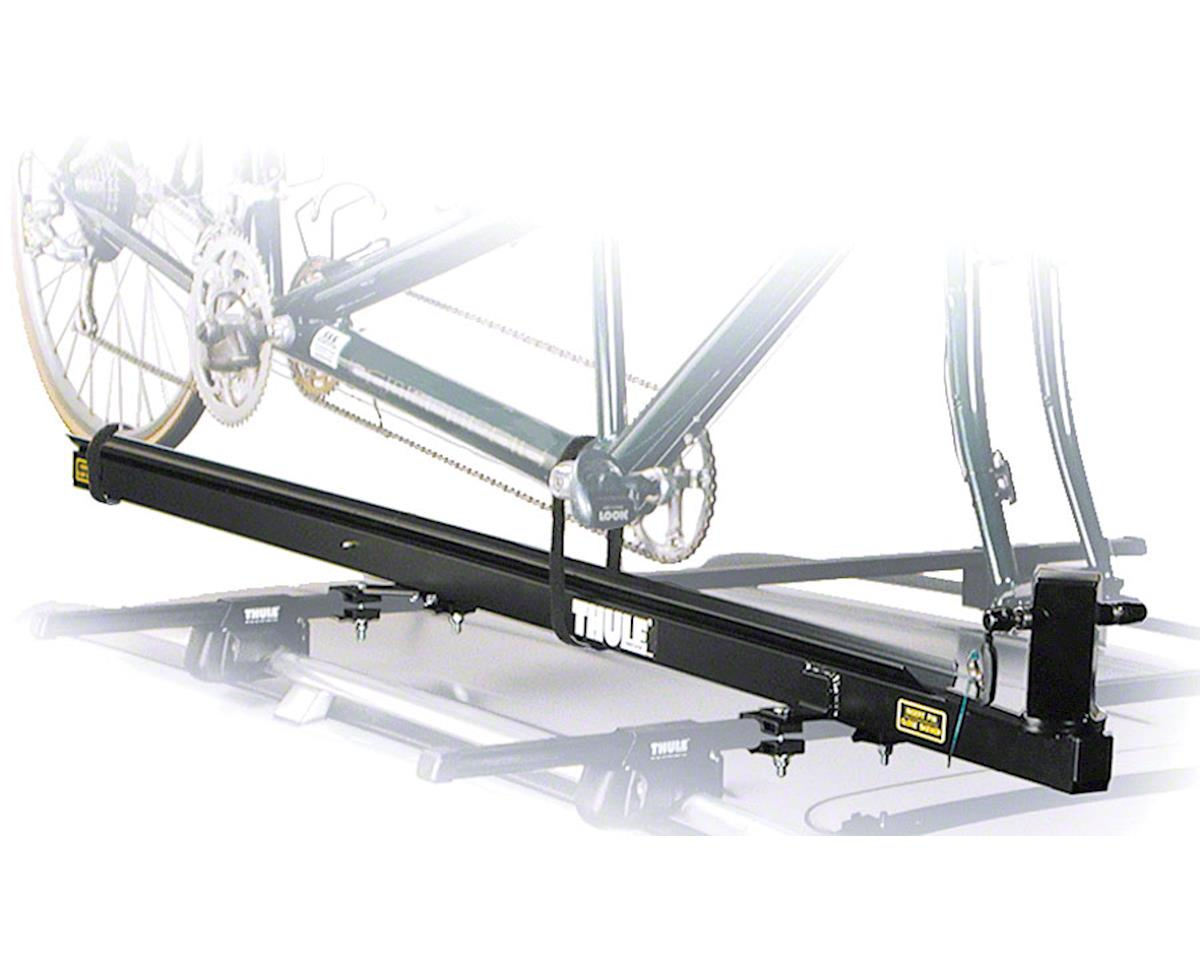Thule 558P Pivoting Roof Rack Fork Mount Tandem Bike Carrier: 1-Bike