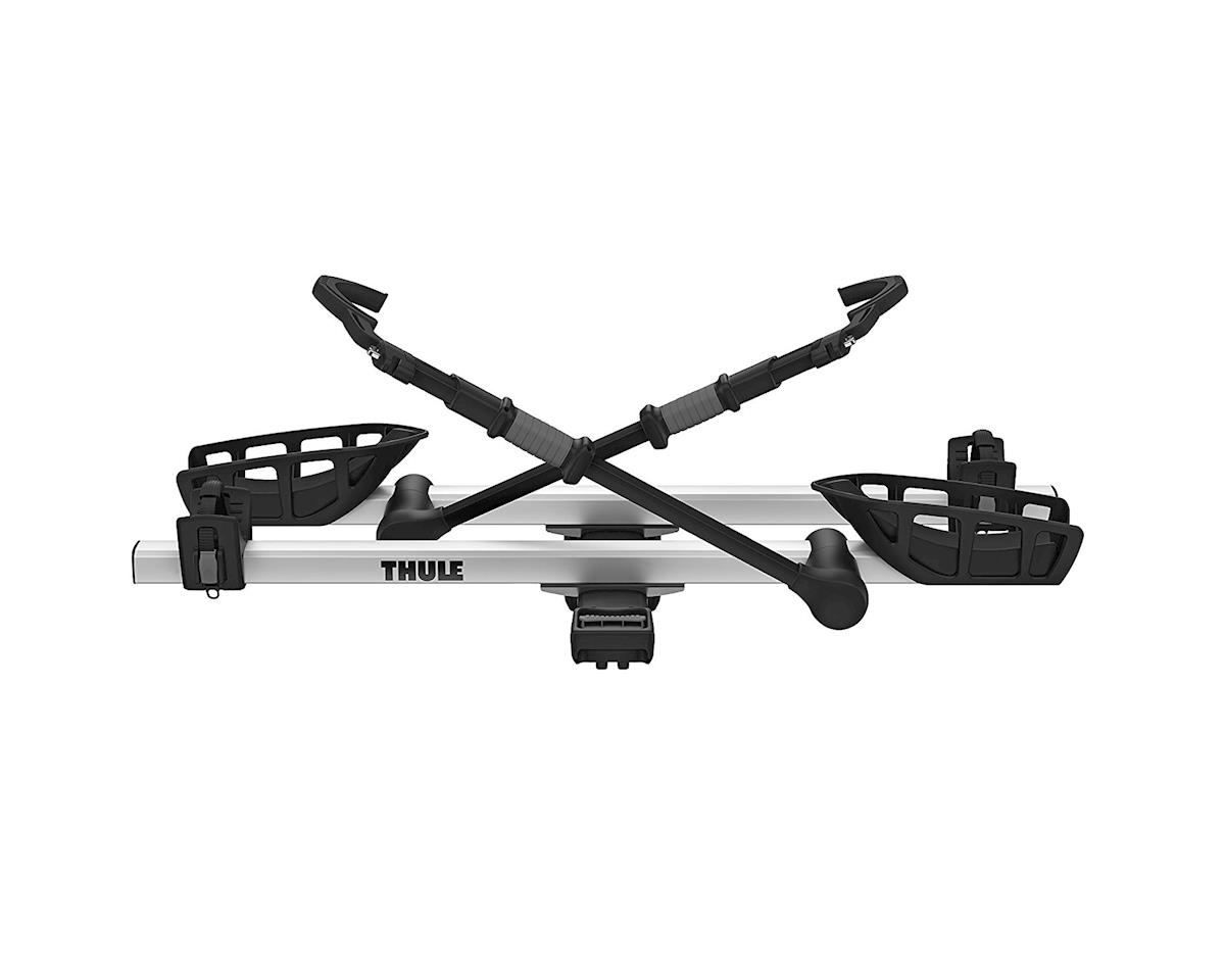 "Image 2 for Thule 9034XTS T2 Pro XT 2"" Hitch Rack (Silver/Black) (2-Bike)"