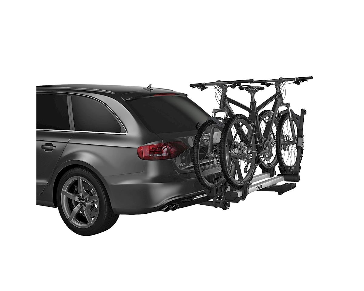"Image 3 for Thule 9034XTS T2 Pro XT 2"" Hitch Rack (Silver/Black) (2-Bike)"