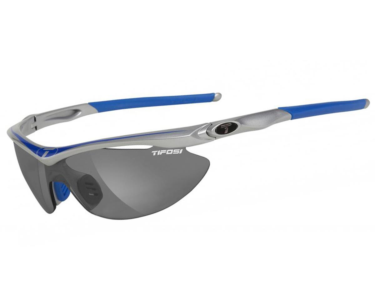 Tifosi Slip Sunglasses (Race Blue) (Interchangeable Lenses)
