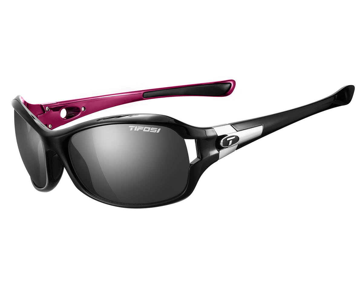 Tifosi Dea SL Sunglasses (Black/Pink) (Polarized)