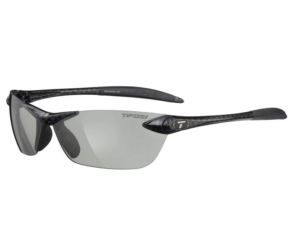 Tifosi Seek Sunglasses (Gloss Carbon) (Fototec)