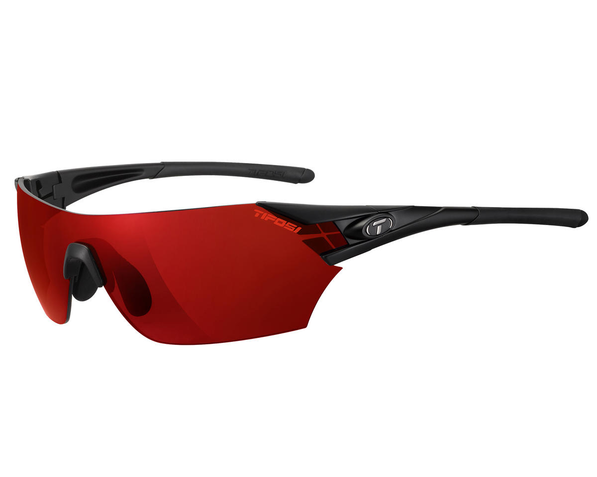 Tifosi Podium Interchangeable Sunglasses (Matte Black)