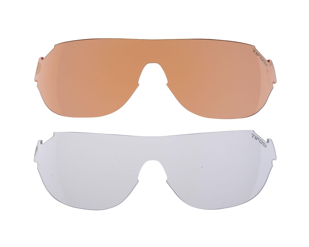 Tifosi Podium S Multi-Lens Sunglasses (Gloss Black)