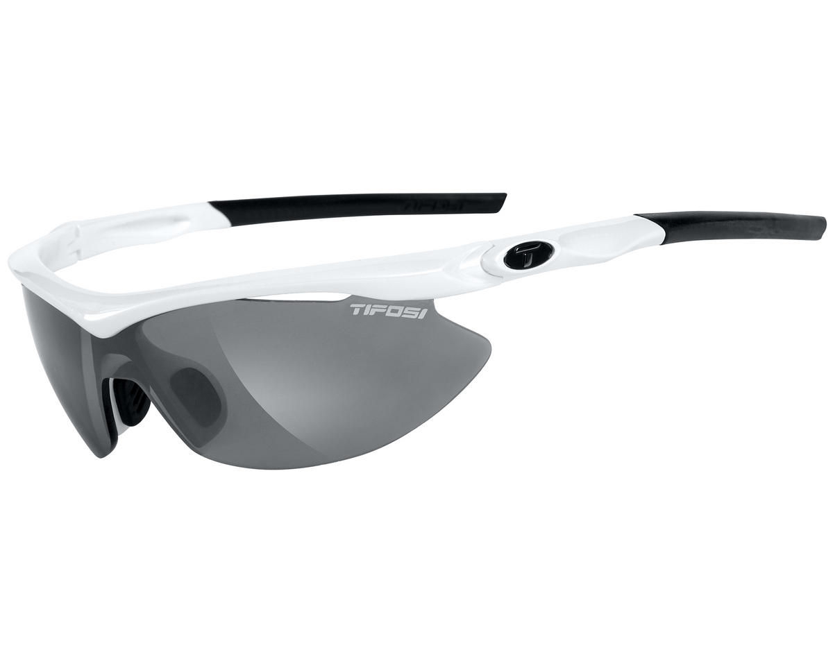 Tifosi Slip Sunglasses (Pearl White) (Interchangeable)