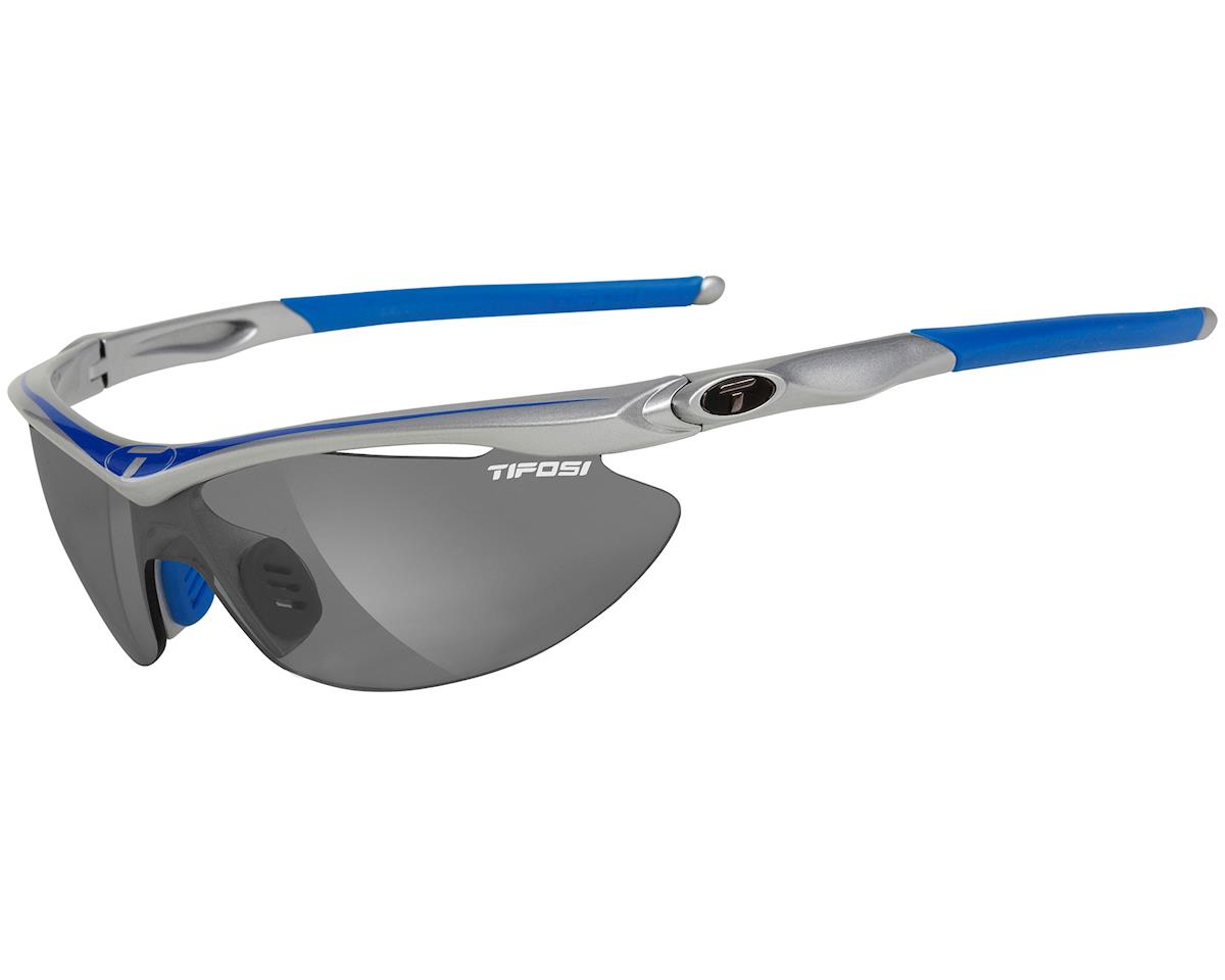 Tifosi Slip Sunglasses (Race Blue) (Interchangeable)
