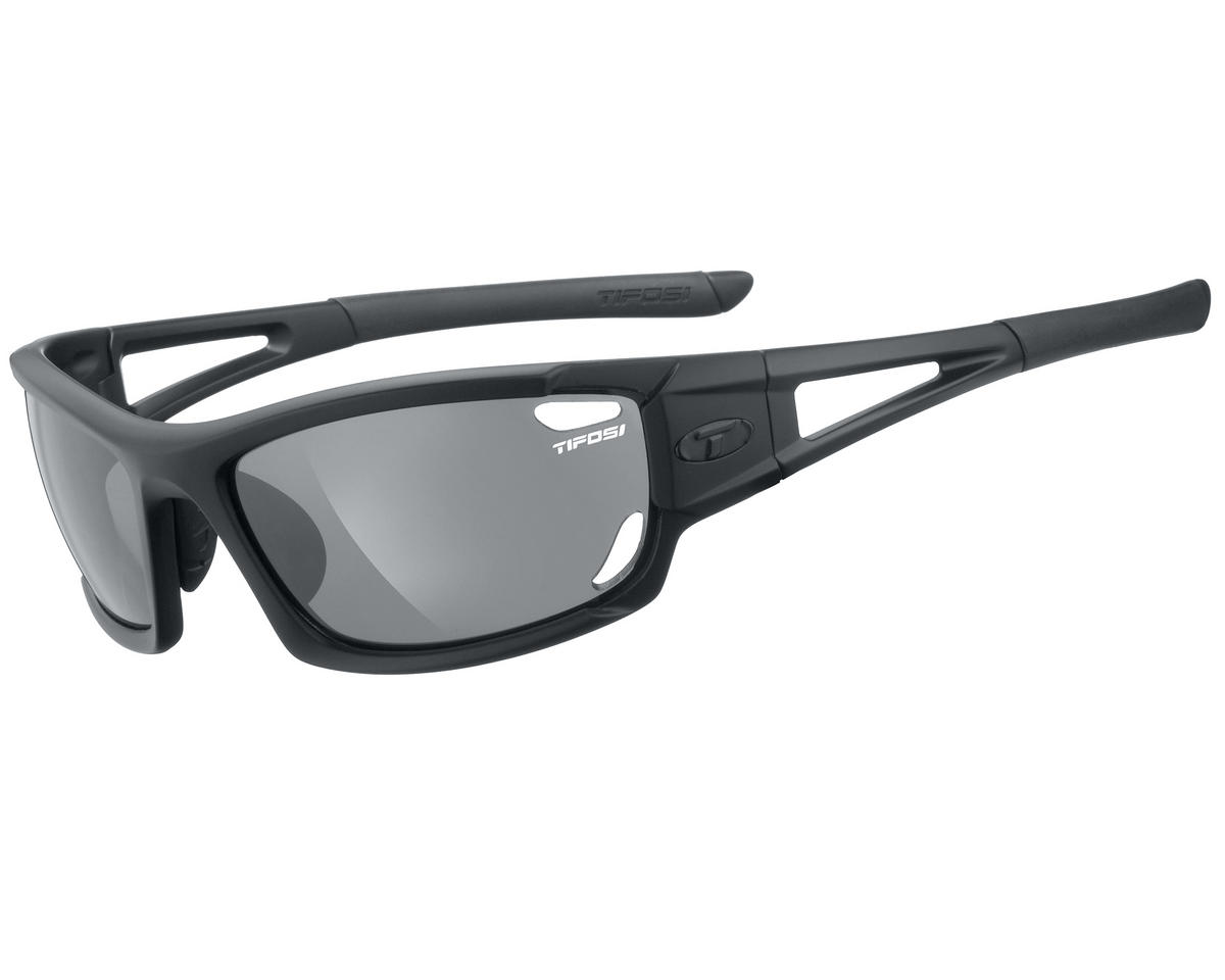 Tifosi Dolomite 2.0 Sunglasses (Matte Black) (Interchangeable)