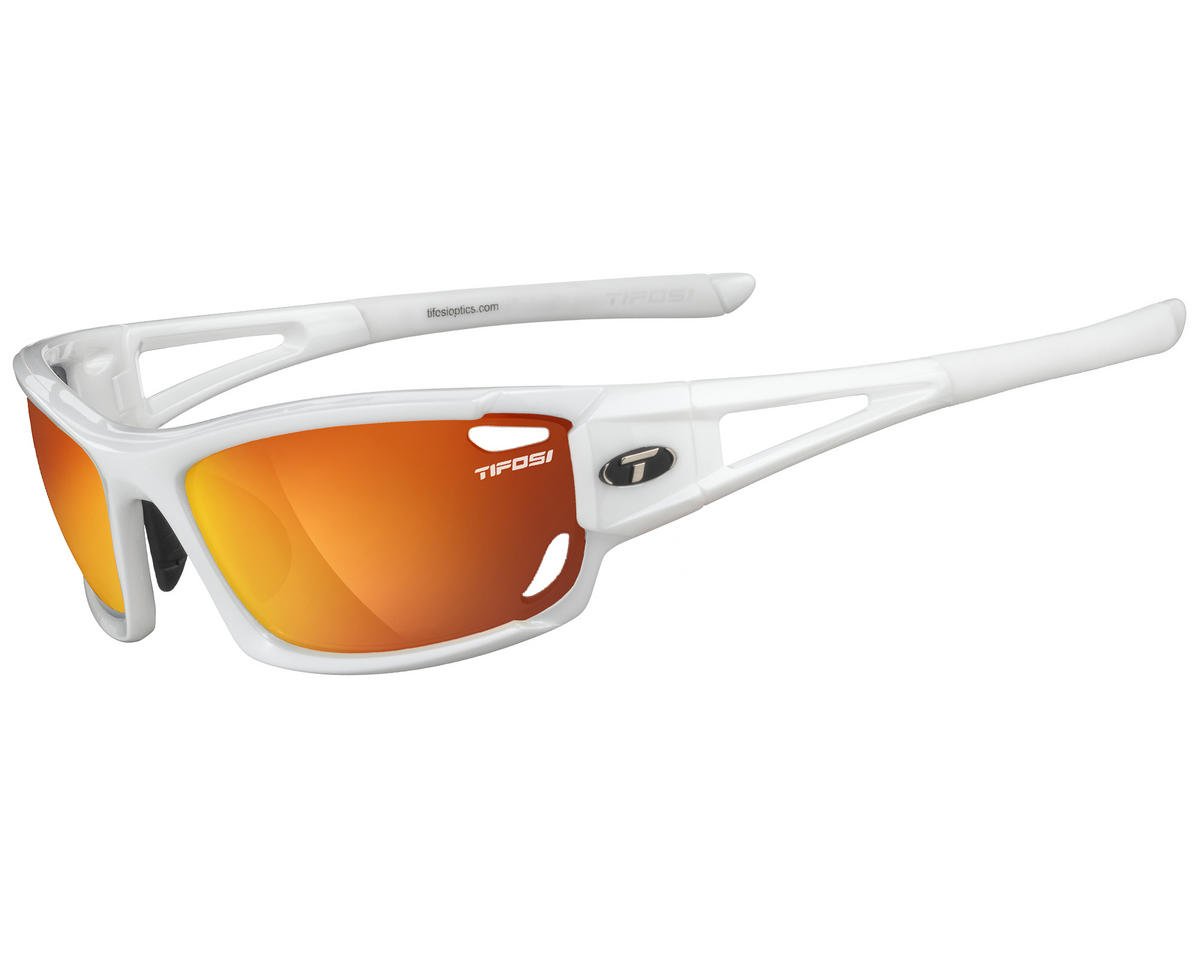 Tifosi Dolomite 2.0 Sunglasses (Pearl White) (Interchangeable)