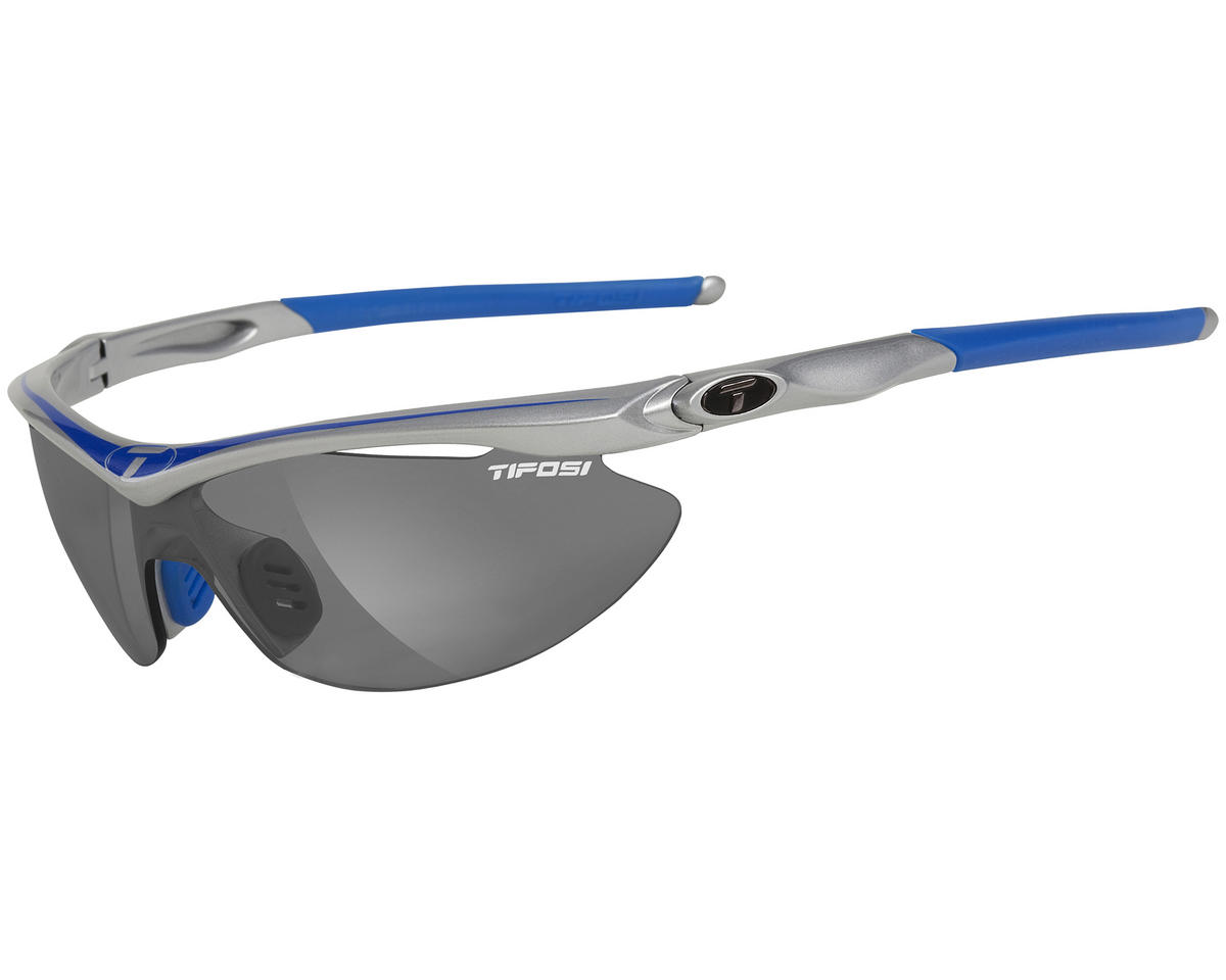 Tifosi Slip Sunglasses (Race Blue) (Interchangeable Golf)
