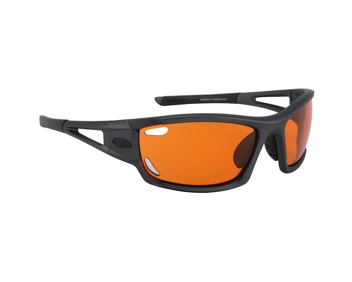Tifosi Dolomite 2.0 Matte Gunmetal Orange Fototec Sunglasses