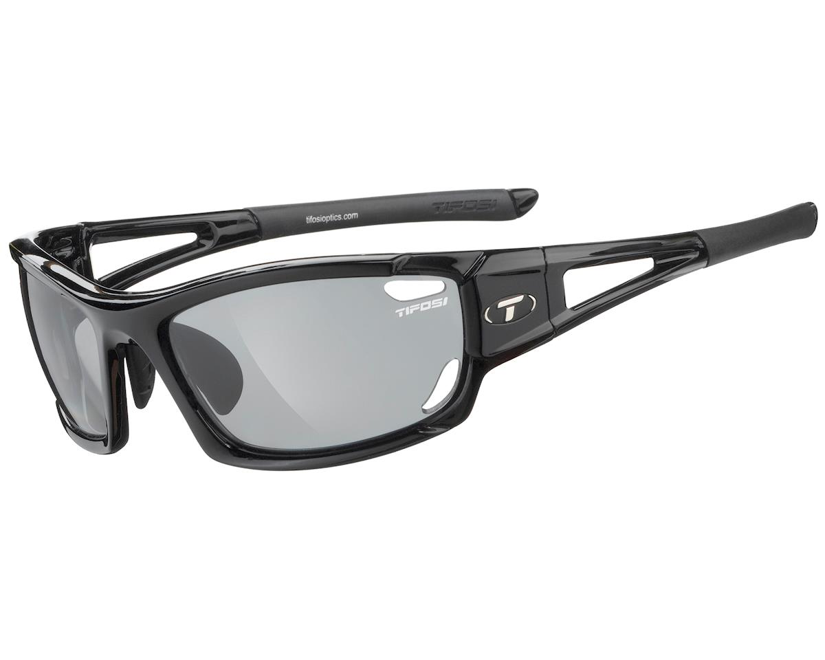 Tifosi Dolomite 2.0 Sunglasses (Gloss Black) (Polarized Fototec)