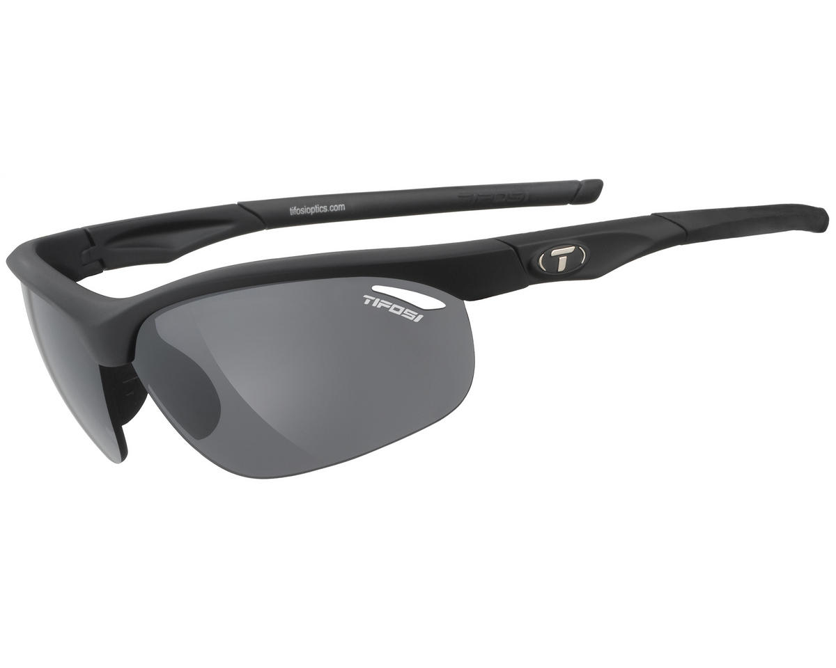 Tifosi Veloce Sunglasses (Matte Black) (Interchangeable)