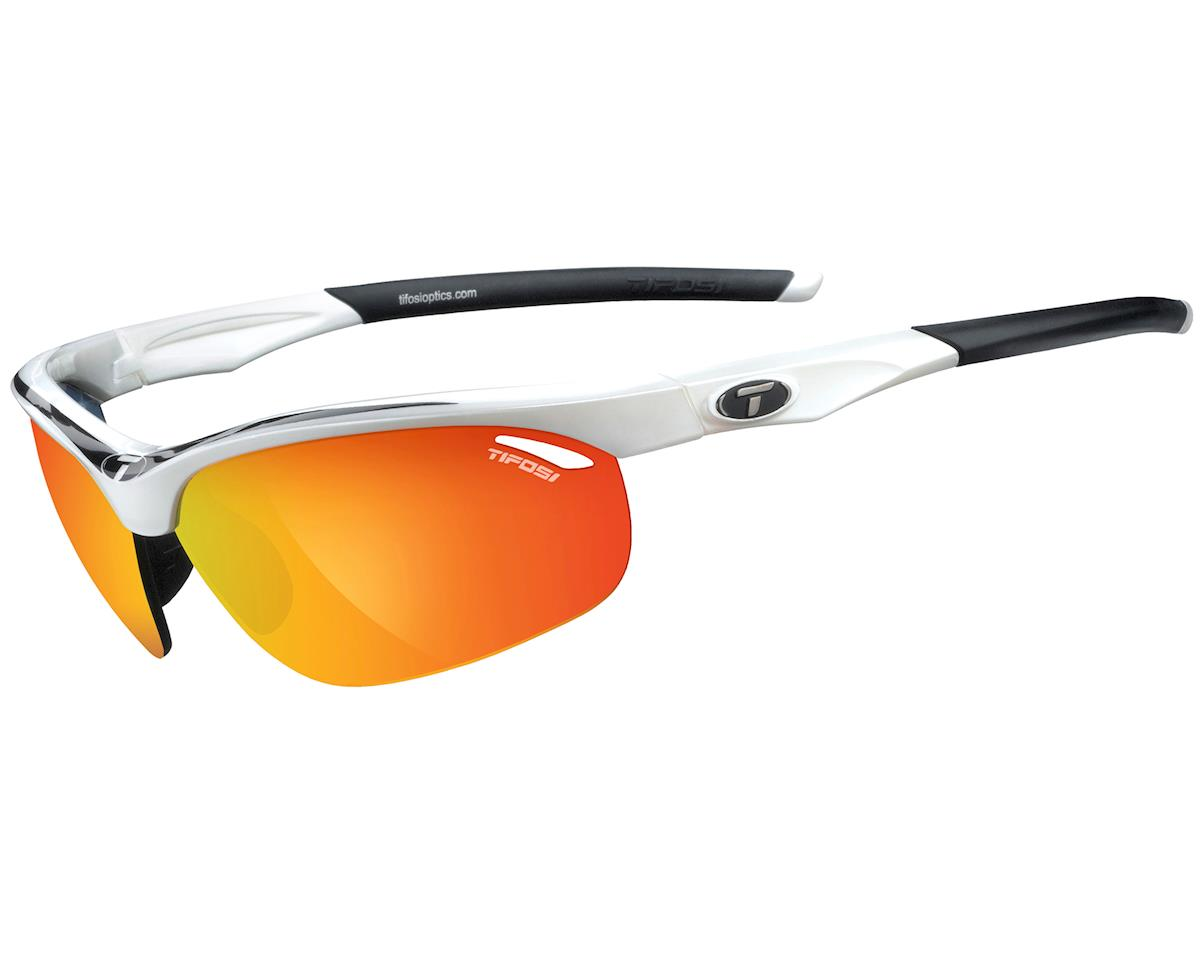 Tifosi Veloce Sunglasses (White/Black) (Interchangeable)