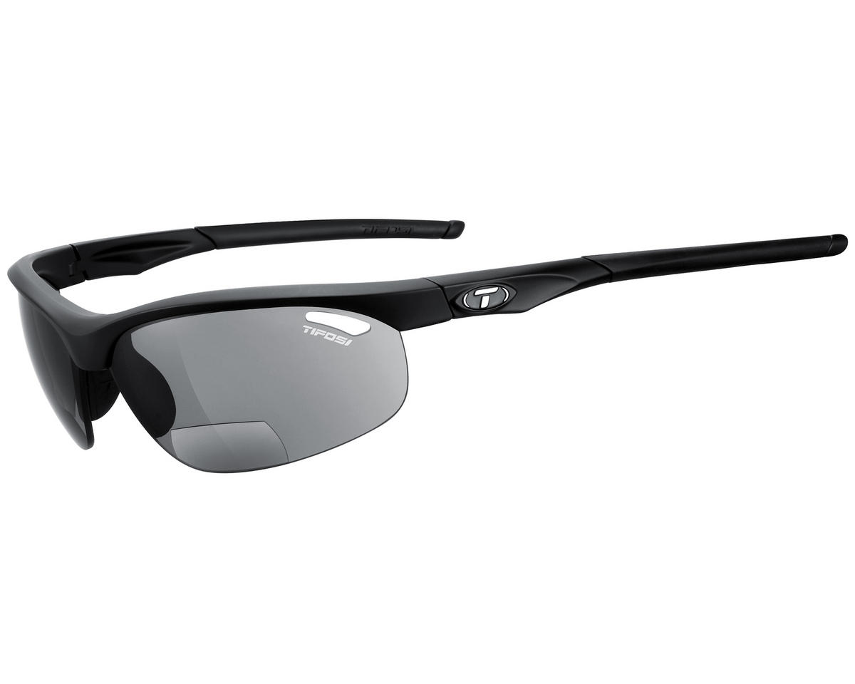 Image 1 for Tifosi Veloce Sunglasses (Matte Black) (Readers 2.5)