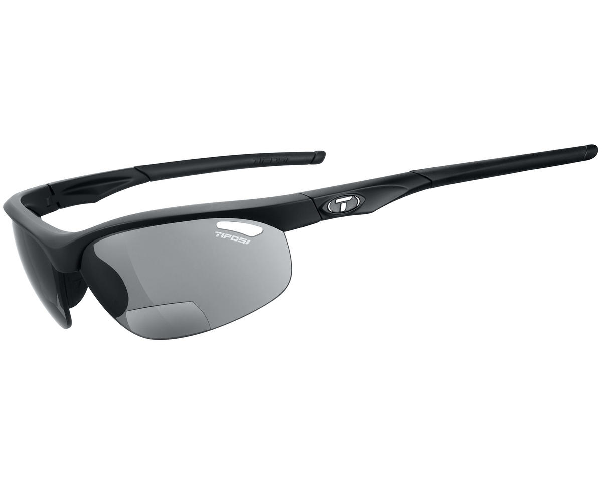 Tifosi Veloce Sunglasses (Matte Black) (Readers 1.5)