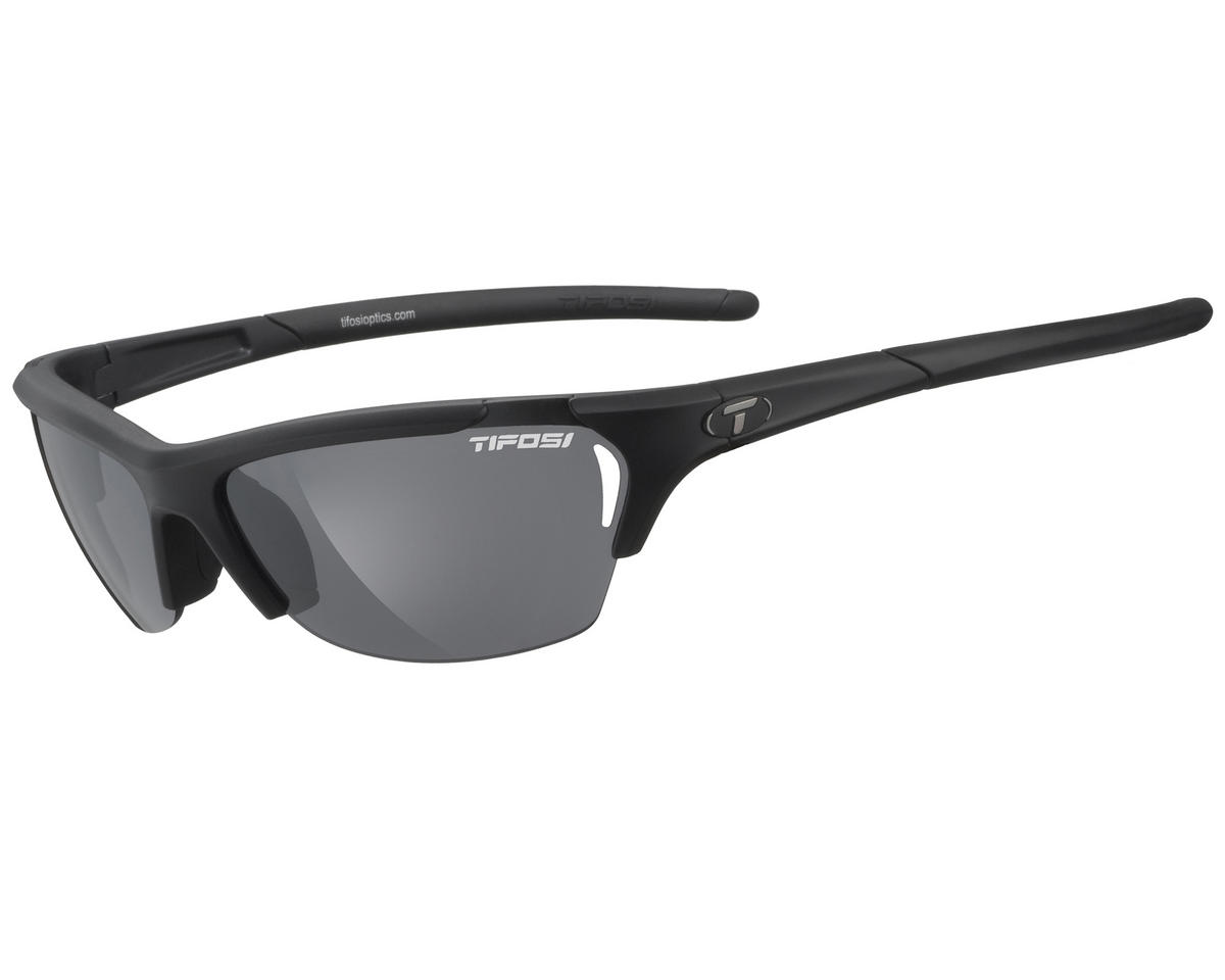 Tifosi Radius Sunglasses (Matte Black) (Interchangeable)