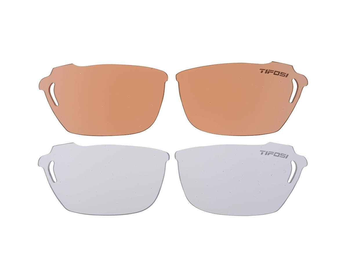 Image 2 for Tifosi Radius Metallic Silver Multi-Lens Sunglasses
