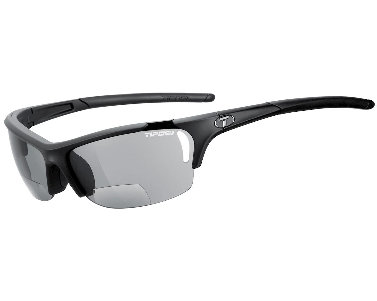 Tifosi Radius Sunglasses (Matte Black) (Readers 2.0)