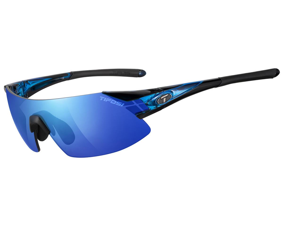Tifosi Podium XC Sunglasses (Crystal Blue) (Interchangeable)