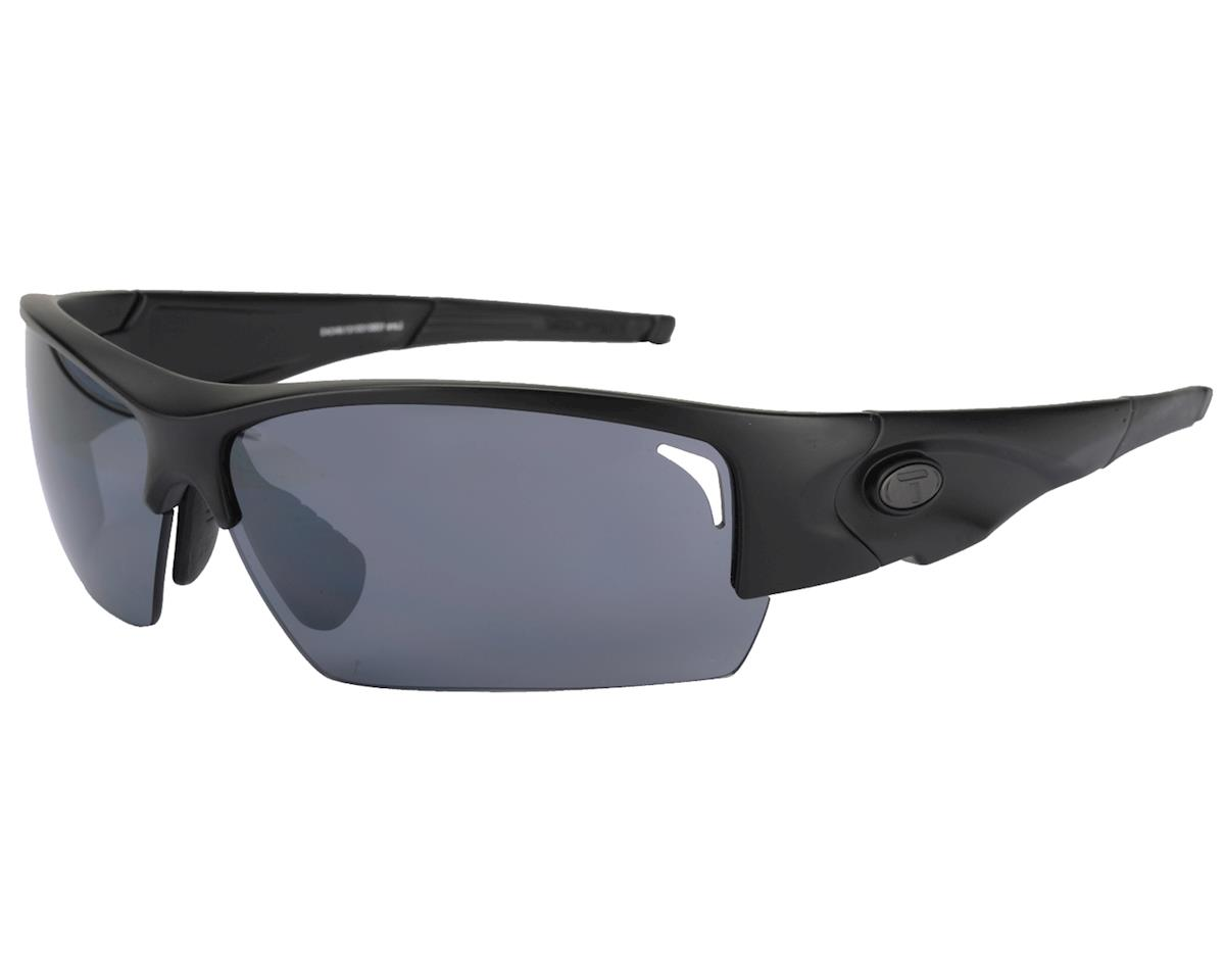 Tifosi Lore Sunglasses (Matte Black) (Interchangeable Lenses)