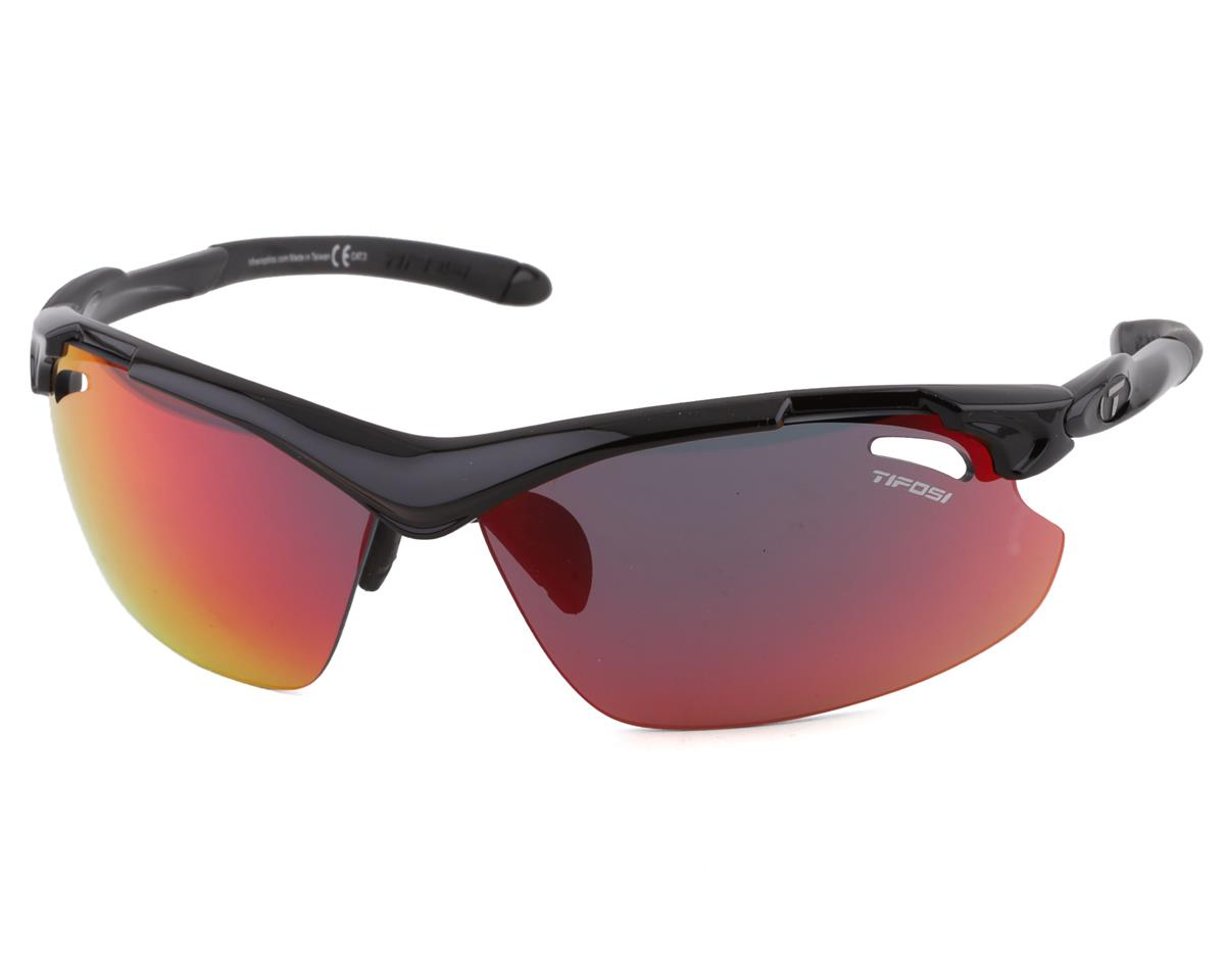 Tifosi Tyrant 2.0 Clarion Interchangeable Sunglasses (Gloss Black)