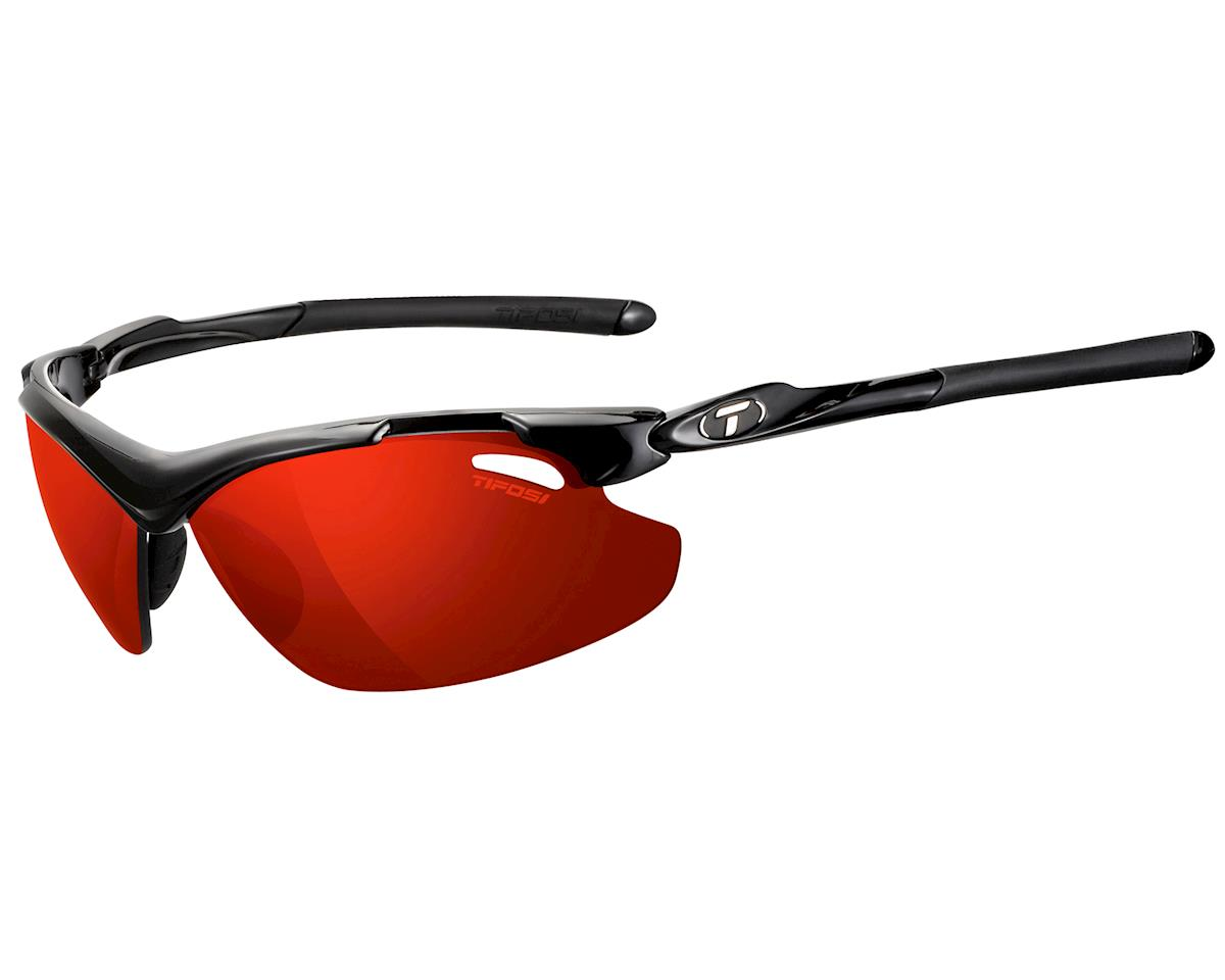 Tifosi Tyrant 2.0 Sunglasses (Gloss Black) (Polarized)