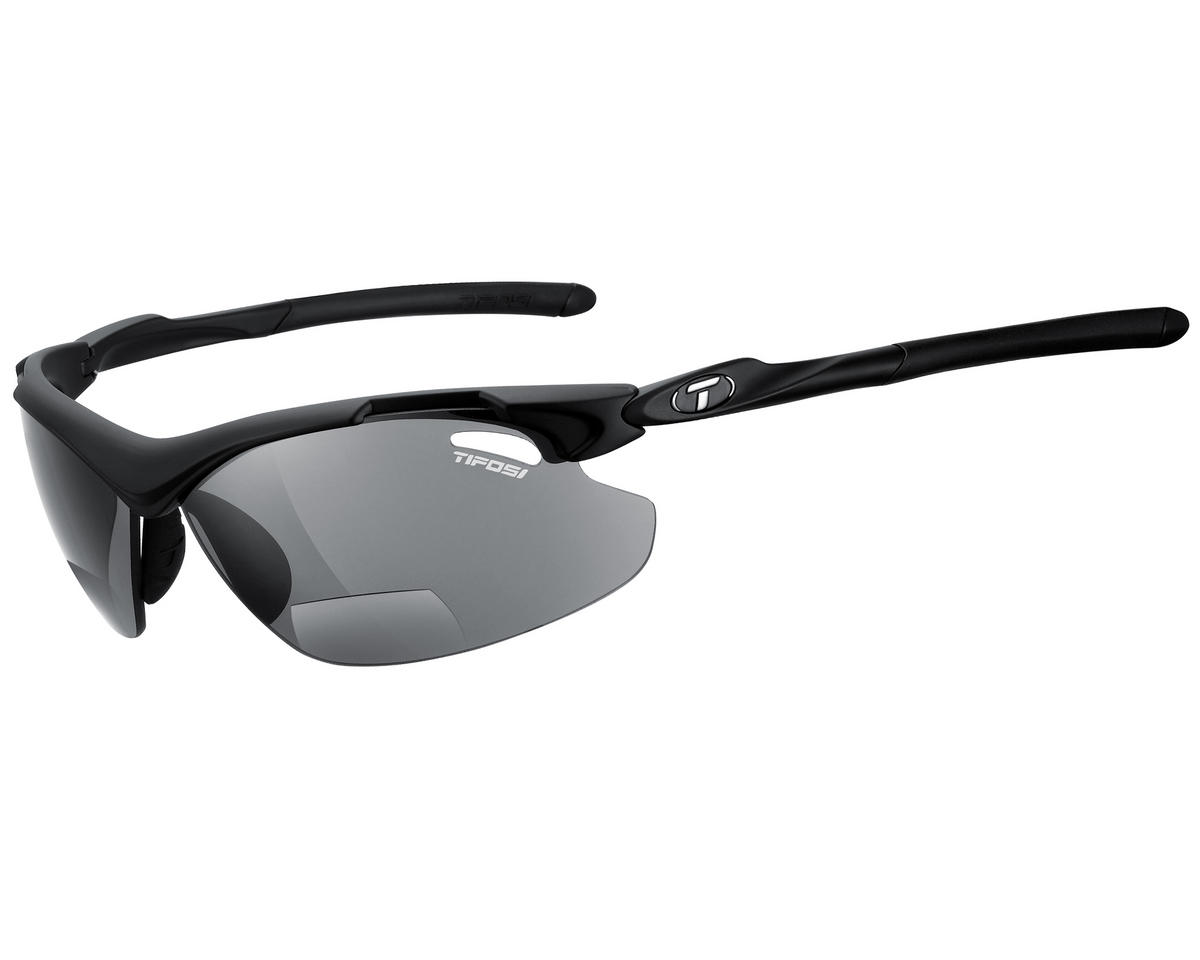 Tifosi Tyrant 2.0 Sunglasses (Matte Black) (Readers 2.5)