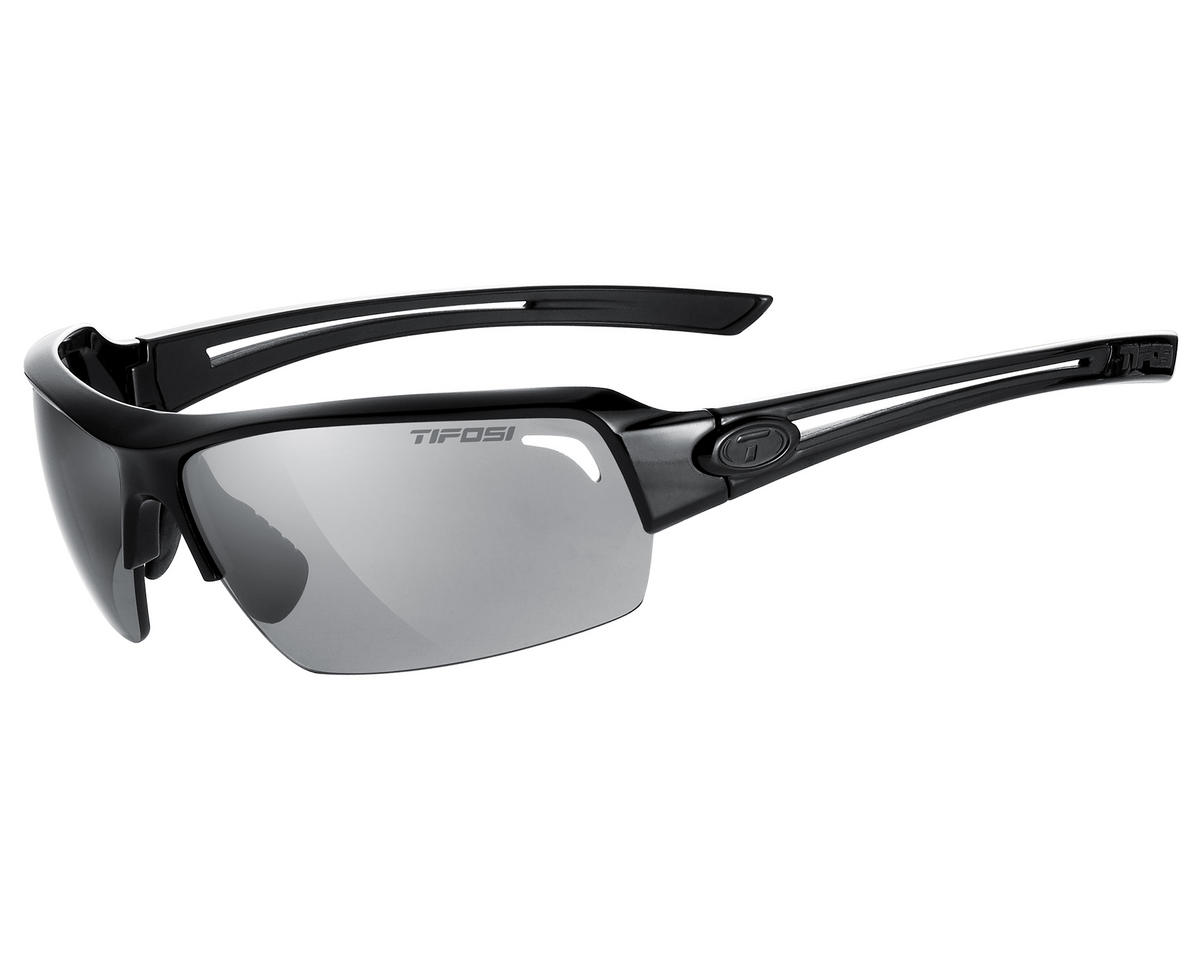Tifosi Just Sunglasses (Gloss Black) (Polarized)