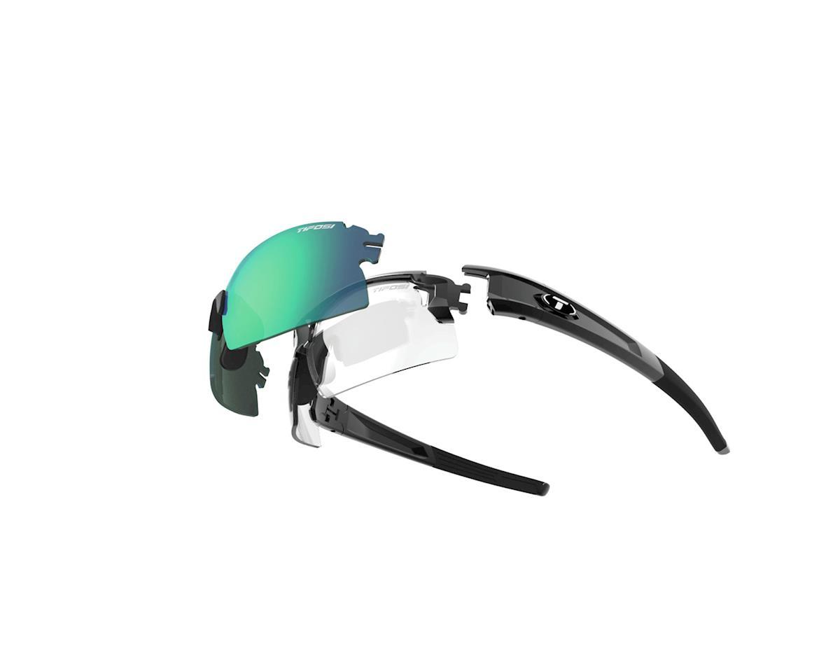 Tifosi Escalate HS Clarion Mirror Multi-Lens Sunglasses (Gloss Black)