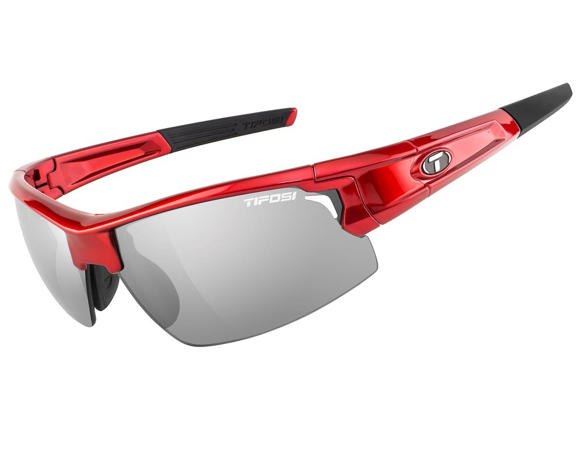 Tifosi Pro Escalate F.H. Interchangeable Sunglasses (Metallic Red)