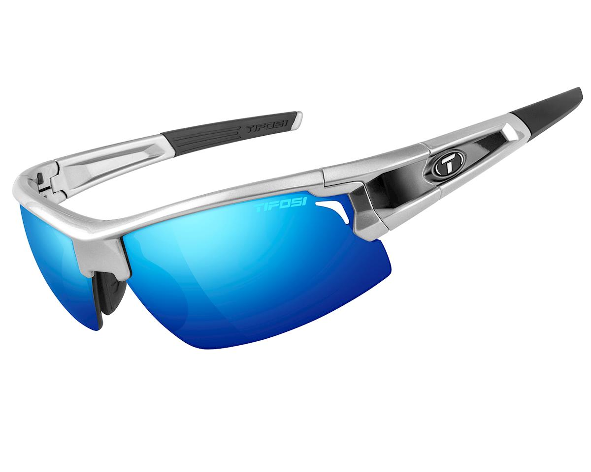 Tifosi Pro Escalate F.H. Interchangeable Sunglasses (Silver/Black)