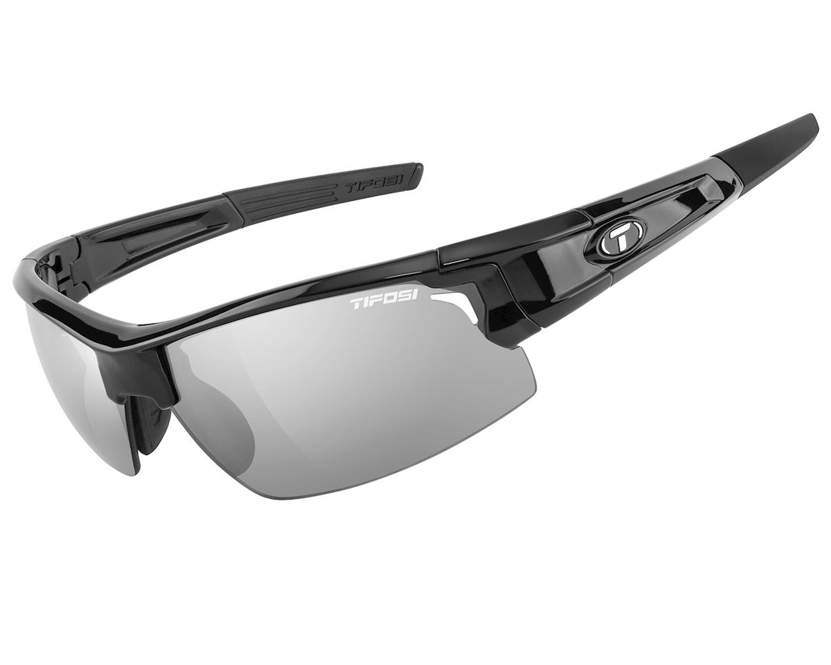 Tifosi Pro Escalate S.F.H. Interchangeable Sunglasses (Gloss Black)