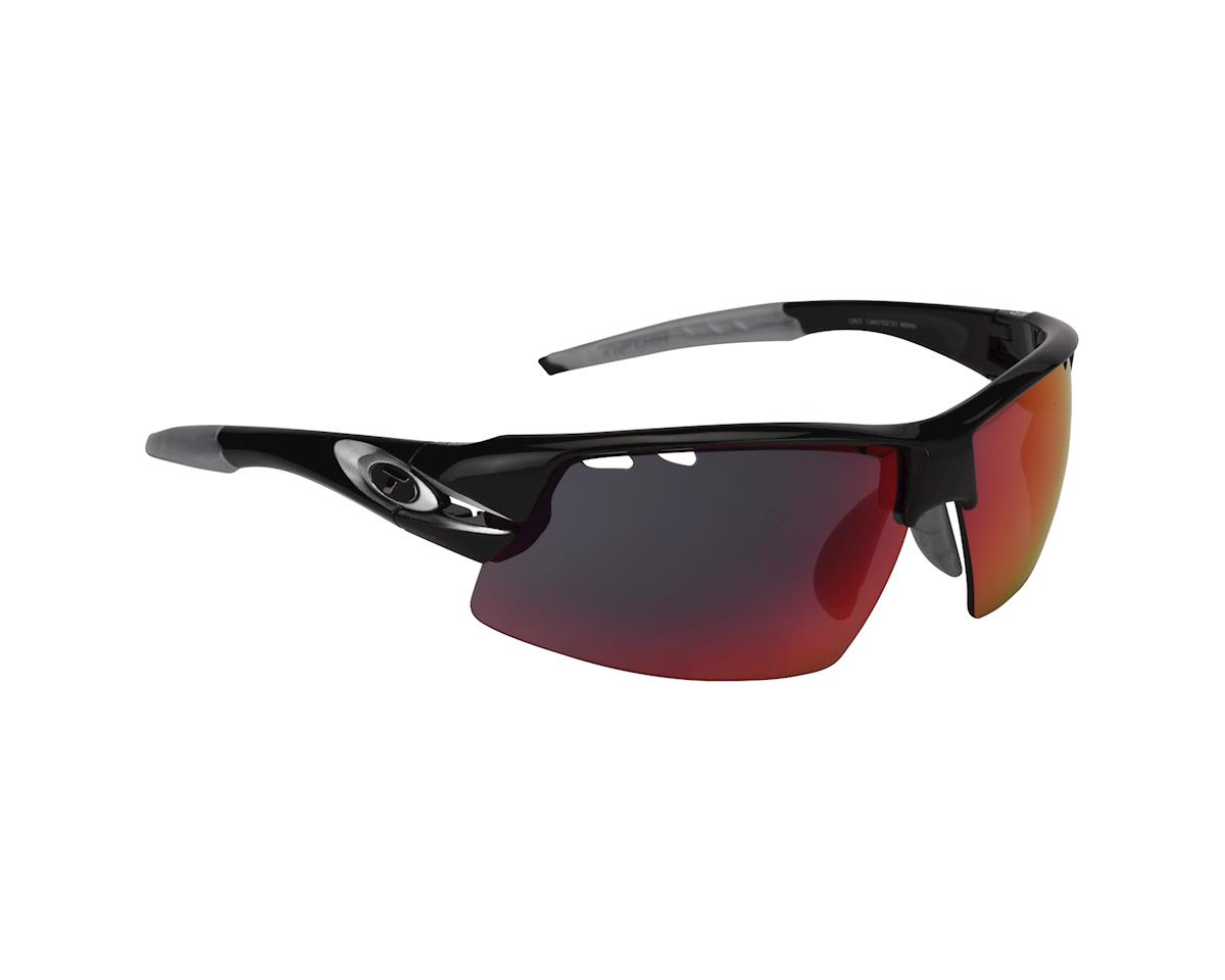Image 1 for Tifosi Crit, Race Silver Interchangeable Sunglasses