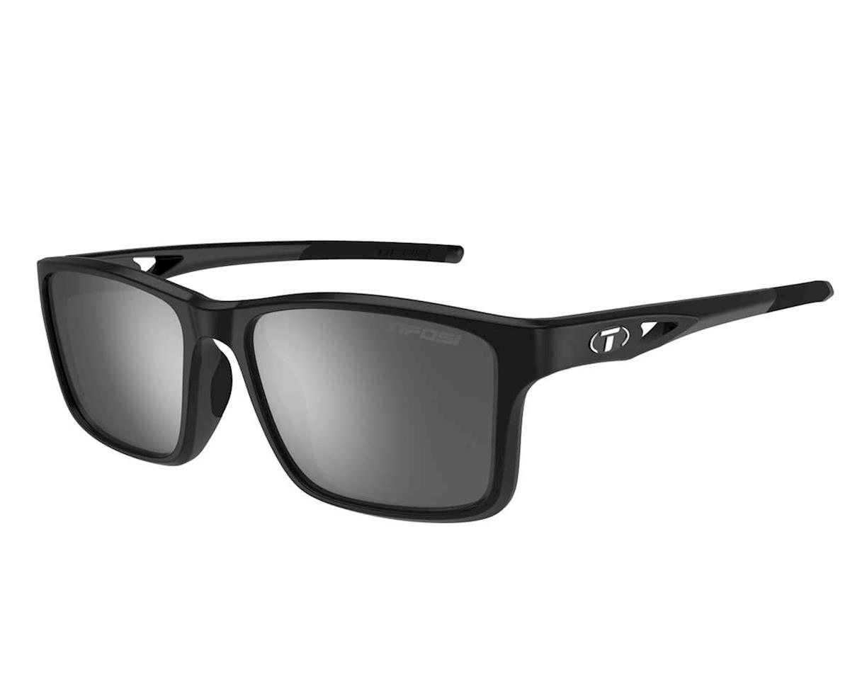 Marzen, Gloss Black Swivelink Sunglasses